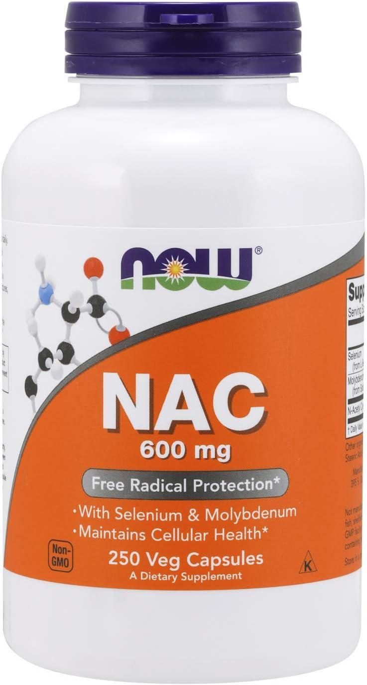 Now Foods, NAC  N Acetyl Cysteine , 9 mg Depot, Nahrungsergänzung, 9  vegetarische Kapseln, sojafrei, glutenfrei