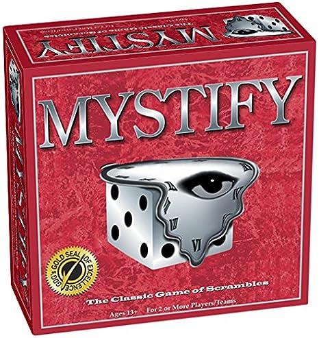 Amazon Com Mystify Word Scramble Board Game Toys Games