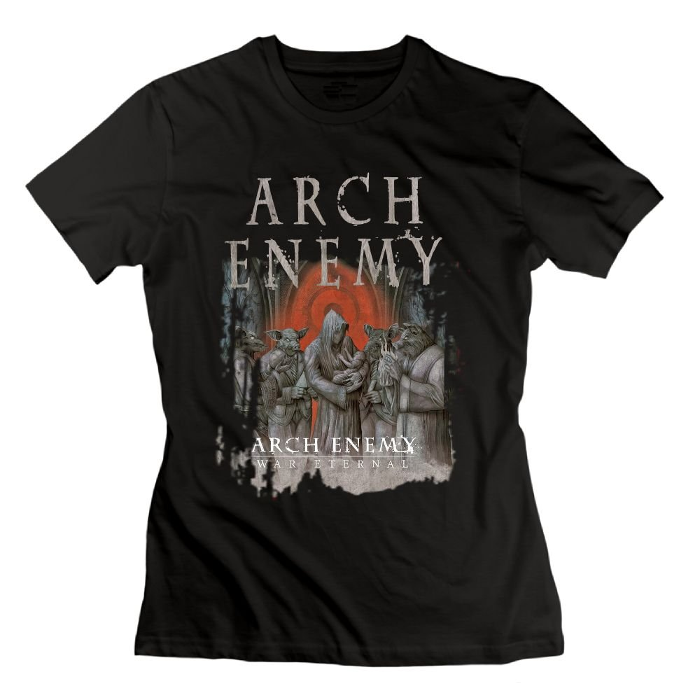Ursulaa Casual Arch Enemy Stolen Life T Shirts 9091