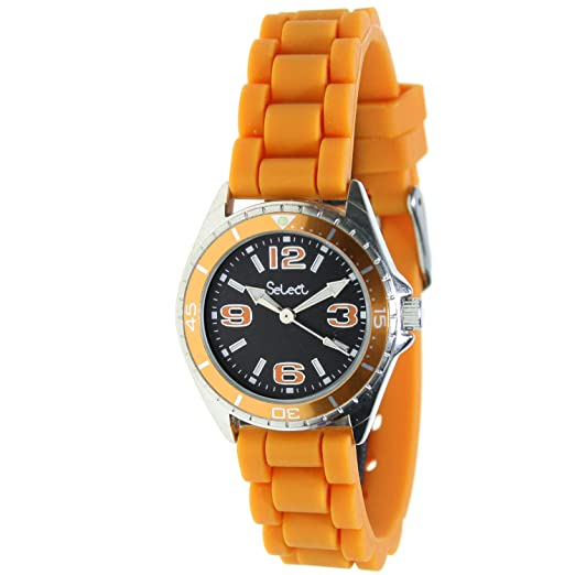 Select Te-43 Reloj Analogico para Niño Caja De Metal Esfera Color Negro: Amazon.es: Relojes