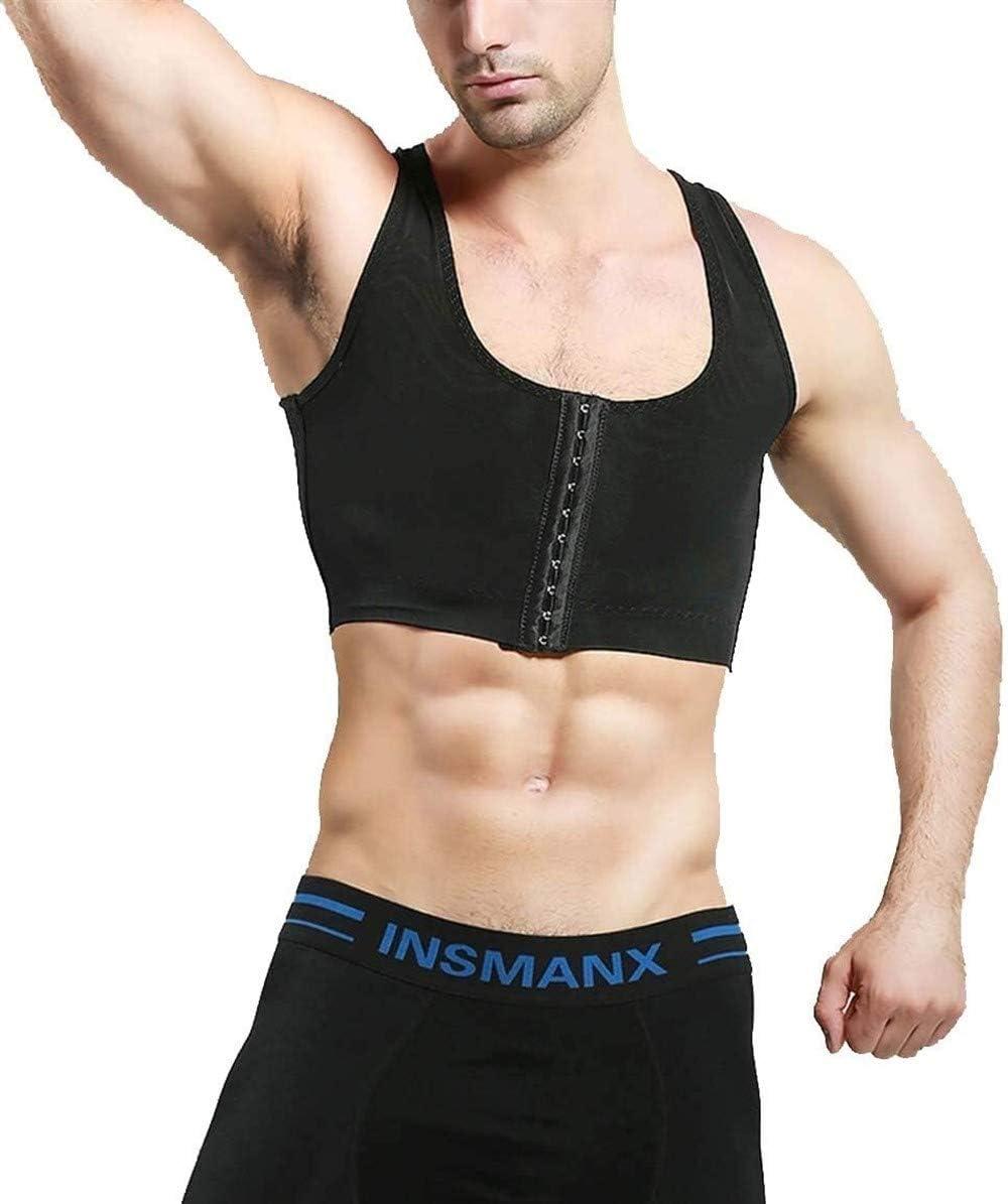 CYGGA M/änner Body Shaper ausblenden Moyn Gyn/äkomastie Weste Compression Unter Kleidung Abnehmen