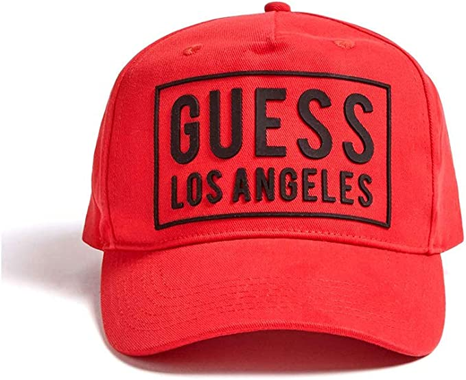 Guess - M01Z45WBN60 Iconic Cap - M01Z45WBN60 - Red, Talla Unica ...