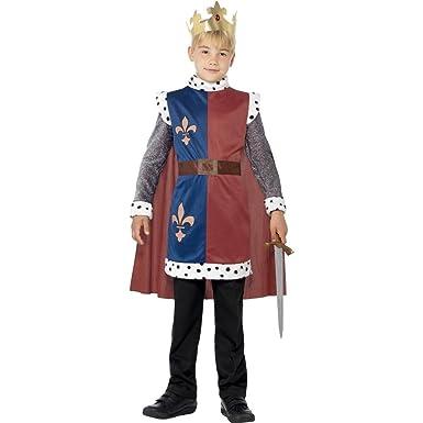 Amazon.com: Niños Medieval Prince disfraz adeliger con King ...