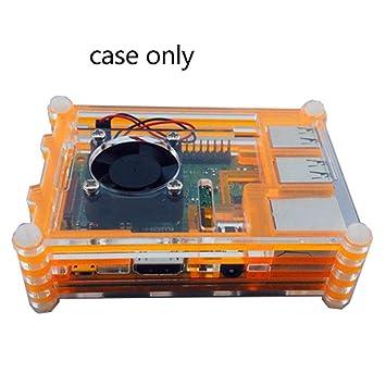 Amazon.com: ASGV Caja de carcasa de acrílico transparente + ...