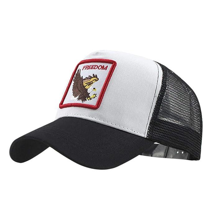 Gorra de béisbol, Talla única, Hip Hop Sombrero Unisex Algodón ...