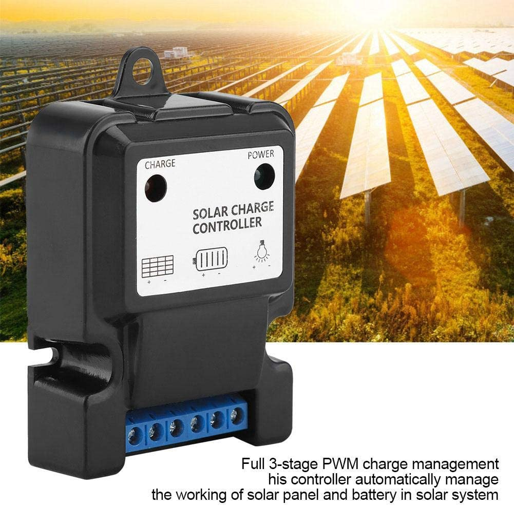 Fdit Socialme-EU 20A Solar Panel Smart Regulator Solar Power Street Light Charge and Download Controller with LCD Display 12V//24V #2