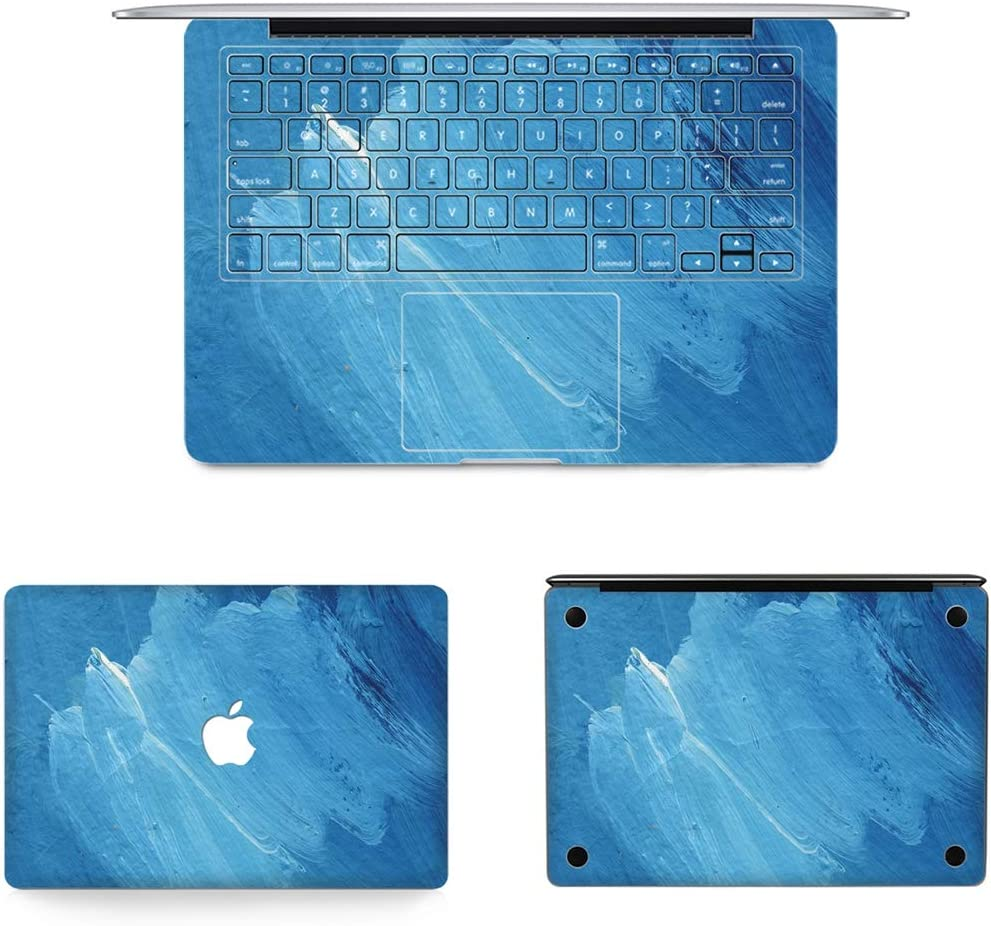 US Ve 36 2010-2012 2012-2017 Full Top Protective Film 13.3 inch A1502 protective film 3 in 1 MB-FB16 Bottom Film Set for MacBook Air 13.3 inch A1466 Full Keyboard Protector Film // A1369