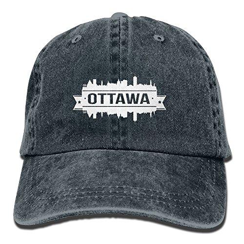Ottawa White Skyline Adjustable Jeans Hats Denim Hat Rodeo Hat Cowboy Caps For Man And - Store Ottawa Hat