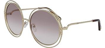 Gafas de Sol Chloé CARLINA CHAIN CE114SC GOLD/LIGHT ...