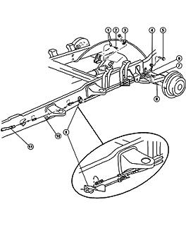 amazon dodge ram 1500 van 1500 rear tensioner parking brake 97 Dodge Intrepid Body Kit mopar performance 52008437ae mopar tensioner