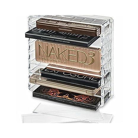 Luxe Organiseur de maquillage en acrylique Transparent support ...