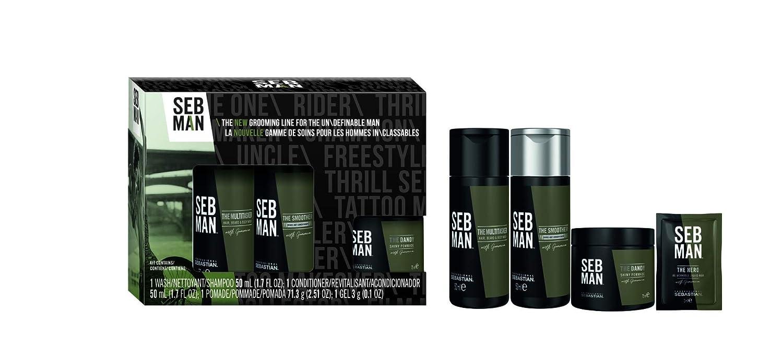 SEB MAN by Sebastian Men's Body, Face & Hair Grooming Gift Set