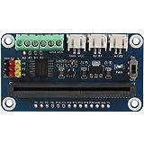 モータ ドライバー Mugast 拡張ボード 高出力 2チャンネル DCモータポート 基板モーター モータ制御シールド Micro:bit Motors対応 3A 5V