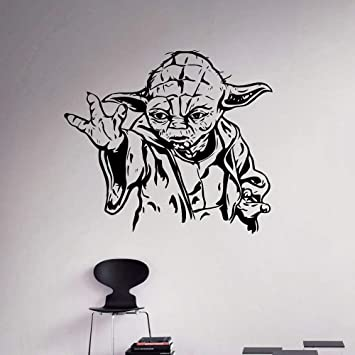 Jedi Master Yoda Star Wars Vinilo Tatuajes de pared Decoración ...