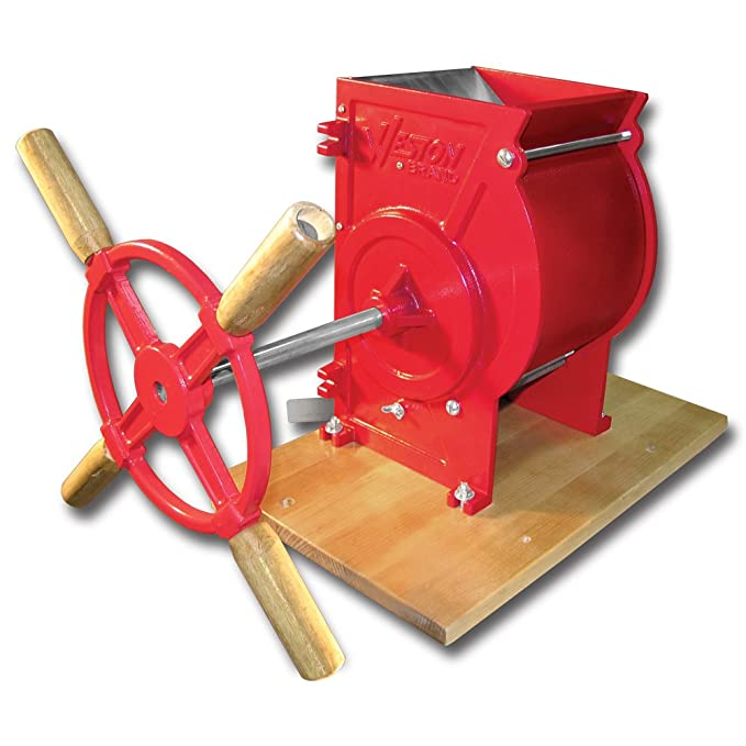 bff64d7a Weston Apple and Fruit Crusher (05-0201), Cast Iron Construction, Stainless  Steel Chute & Crushing Blades