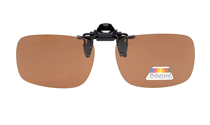 ce8fb7083cb1 Amazon.com  Eyekepper Flip-up Clip-on Sunglasses Polarized 2 3 8