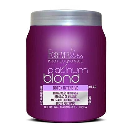 Botox Matizador Forever Liss Platinum Blond - 1kg: Amazon.es ...