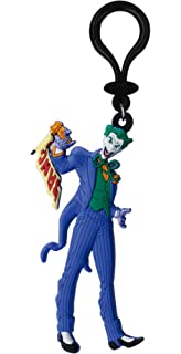 Plastoy- DC Comics Llavero Chibi The Joker, Multicolor ...