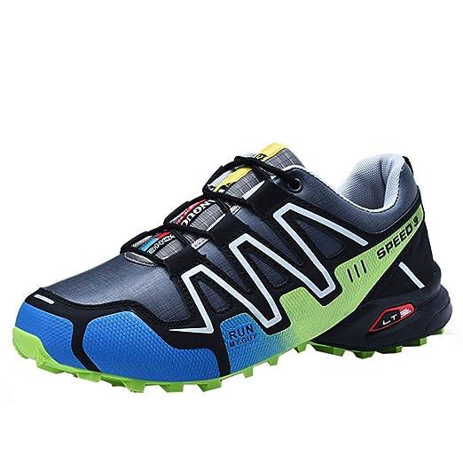 Amazon.com: JJLIKER Men Non-Slip Hiking Sneakers Rubber Waterproof Comfort Shoes for Outdoor Trekking Shoes: Sports & Outdoors