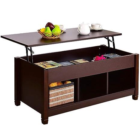 Amazoncom Global Supplies Coffee Table Lift Top Wood Home