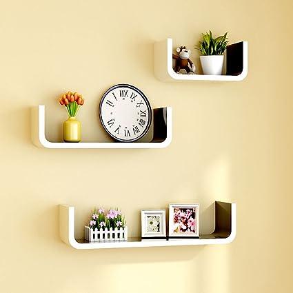 Amazon Com Boyang Wall Partition Shelf Tv Wall Decoration Display