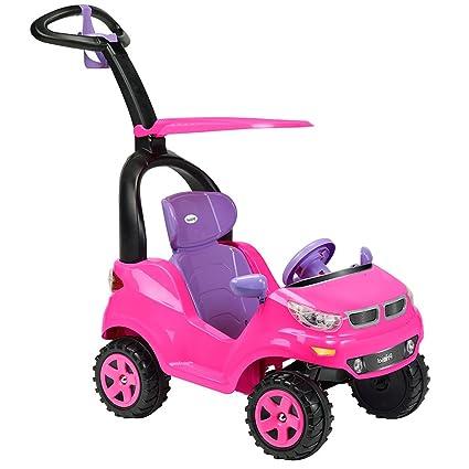 Prinsel Ride On Montable Push Car Adventure Color Rosa Amazon Com