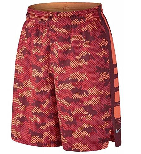 Nike Men's Elite Stripe Shorts 776117 842 Orange Red Size XXL