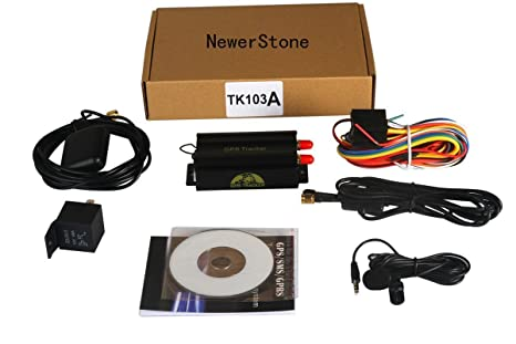 Buy Vehicle Car GPS Tracker 103A for GSM GPRS GPS System