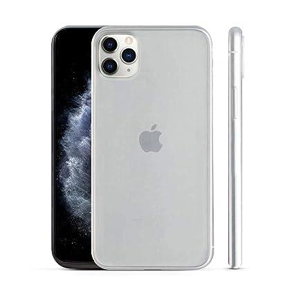 PEEL Ultra Thin iPhone 11 Pro Max Case, Silver , Minimalist Design