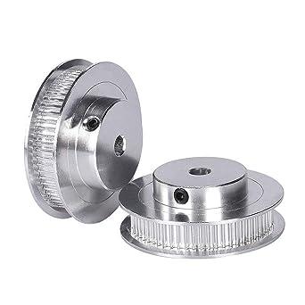 GT2 60 dientes 5 mm de diámetro de aluminio Timing polea tensor ...