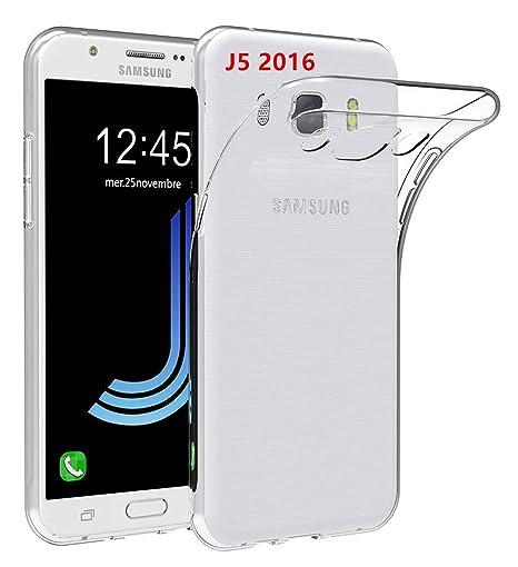 LUCKLYSTAR® Carcasa para Samsung Galaxy J5 2016 J510FN Slim ...