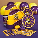 Louisiana State Tigers (LSU) College Standard Pack Party Accessory, Health Care Stuffs