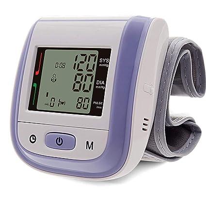 Último cuidado táctil totalmente automático de muñeca de manguito de presión arterial, monitor de atención