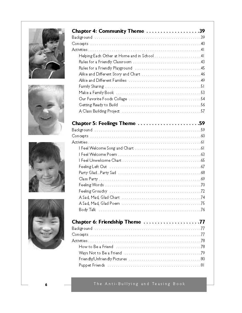 Amazon com: The Anti-Bullying and Teasing Book for Preschool