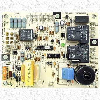 honeywell furnace circuit board wiring diagram  | 2494 x 3722