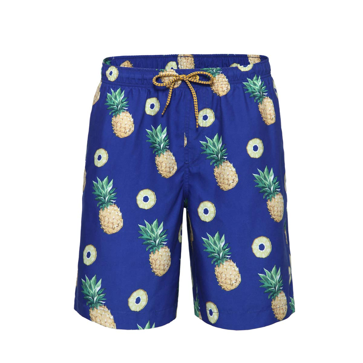 d5d1761e9cea4 Rokka&Rolla Men's Quick Dry Drawstring Waist Swim Trunks Board Shorts with  Mesh Lining product image
