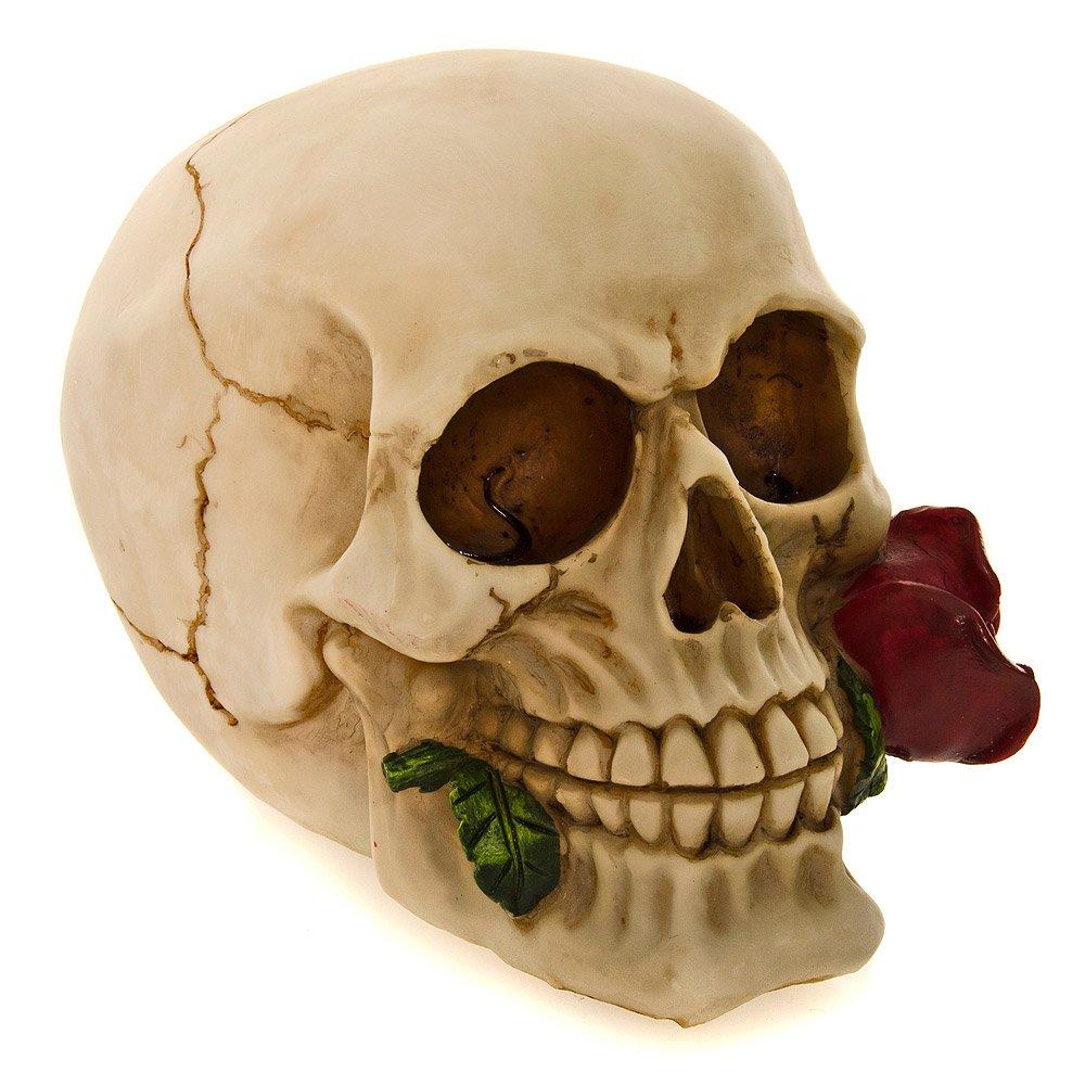Statuetta Da Collezione Rose Dead Skull Nemesis Now (15cm)
