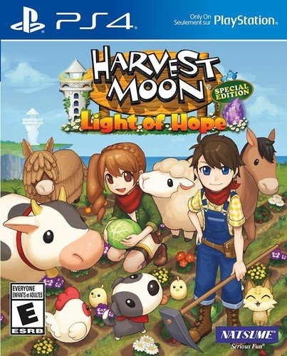 Harvest Moon: Light of Hope Special Edition - PlayStation 4 (Crossing Animal Ps2)