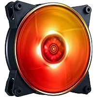 MasterFan Pro 120 Flujo de Aire RGB - Ventilador de Flujo de Aire de 120mm con Aspas Inspirado en Avionetas para Gabinete de PC, Disipador, y Enfriador