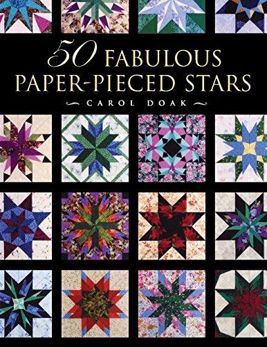 50 Fabulous Paper-Pieced Stars - Print-On-Demand Edition (Stars Pieced)