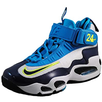 new concept 976a7 ec74c Image Unavailable. Image not available for. Color  Nike Air Griffey Max 1  (Kids) - Pure Platinum   Midnight Navy-Black