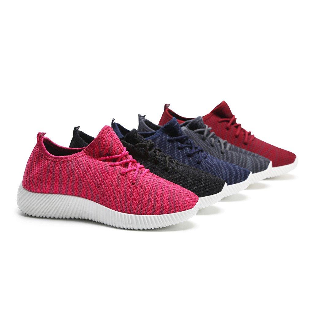 Hawkwell Women's Light Weight Sport Fashion Sneaker B06ZZRQJQW 7 B(M) US|1777-navy