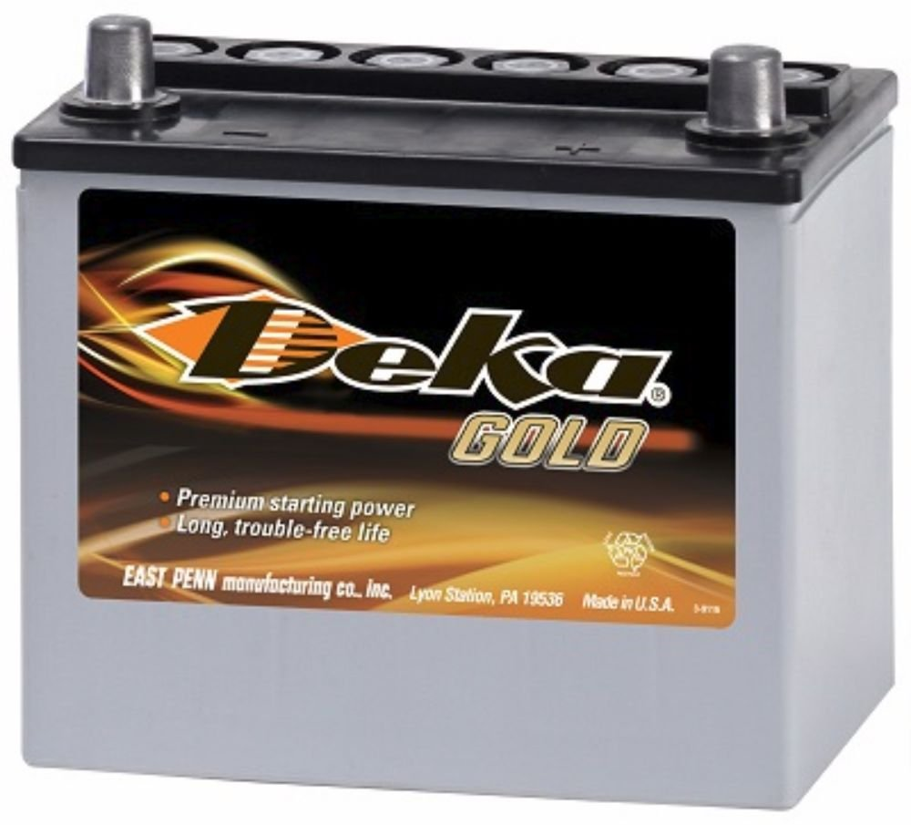 MAZDA Miata Battery Deka/East Penn 8AMU1R AGM: Amazon co uk