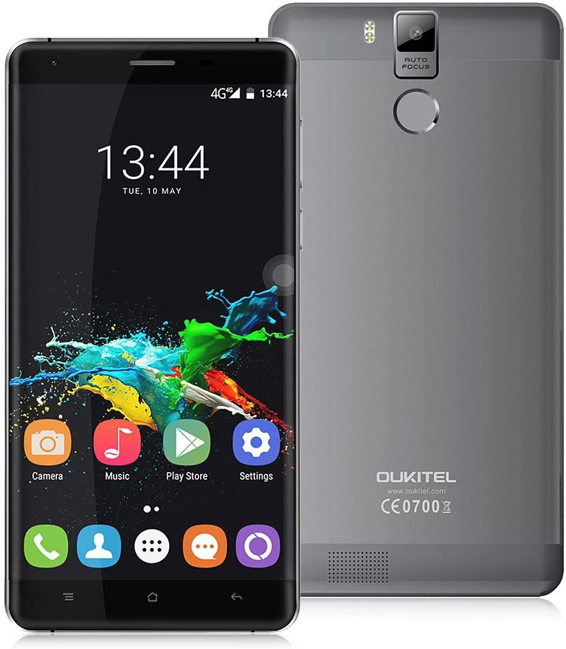 OUKITEL K6000 Pro - Smartphone 4G LTE (Android 6.0, Pantalla 5.5 ...