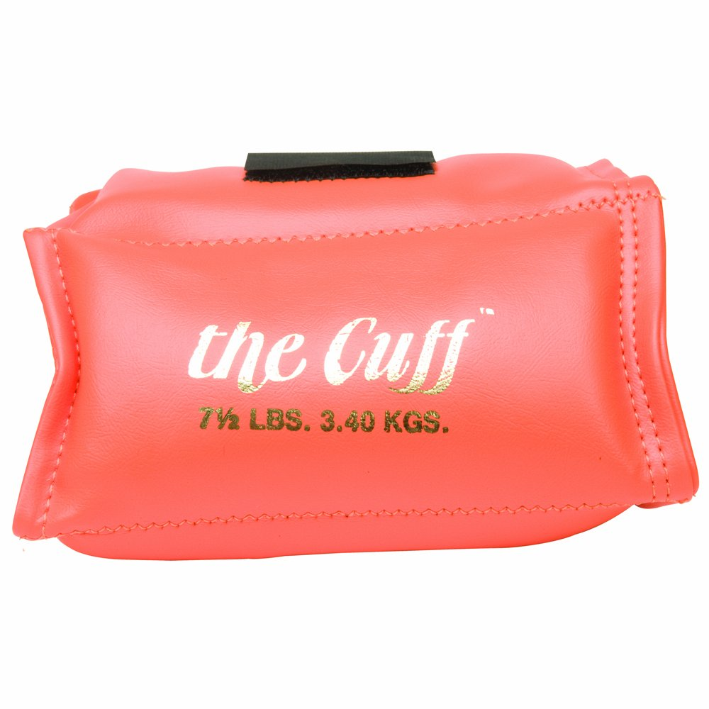 Cando 10-0212 Orange Cuff, 7.5 lbs Weight, For Wrist or Ankle by Cando