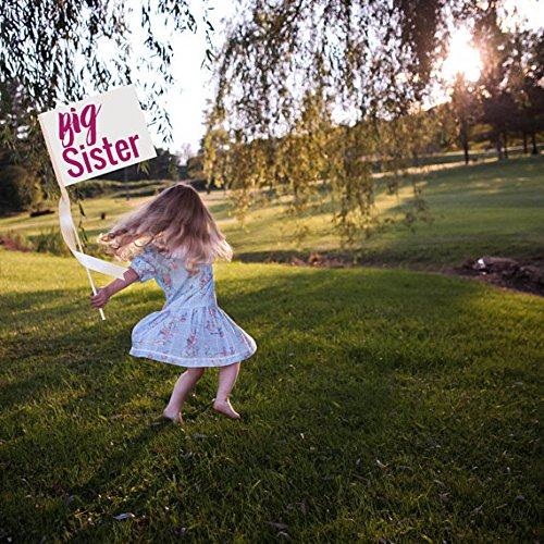 Big Sister signo hecho a mano bebé anuncio | cartel ...