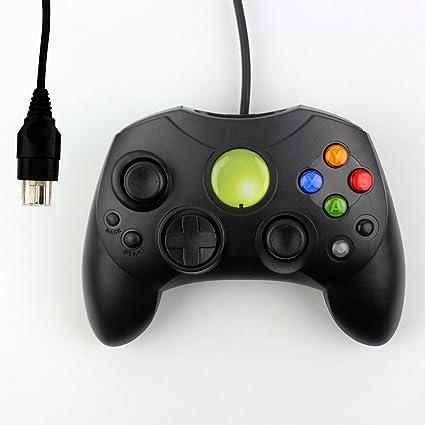 Gam3Gear Gamepad cable controlador para XBox cl?sica original Gen.1 Negro: Amazon.es: Videojuegos