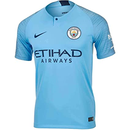 89de708fa Buy M.C.F.C Manchester City Football Jersey (Blue, Medium) Online at ...