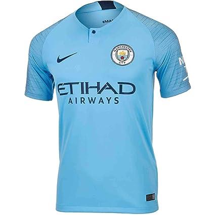 more photos 81663 1a721 Buy M.C.F.C Manchester City Football Jersey (Blue, Medium ...