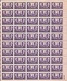 US Stamp - 1946 Tennessee Statehood - 50 Stamp Sheet - Scott #941